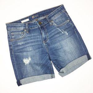 Kut from the Kloth Catherine Boyfriend shorts 2